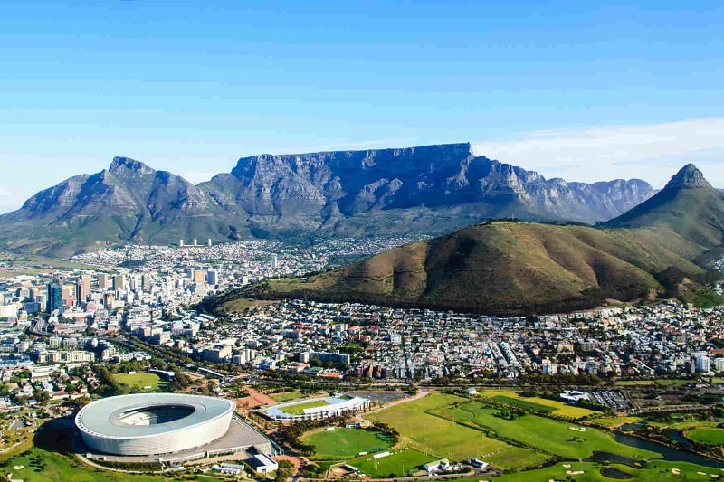 راه های مهاجرت به آفریقای جنوبی